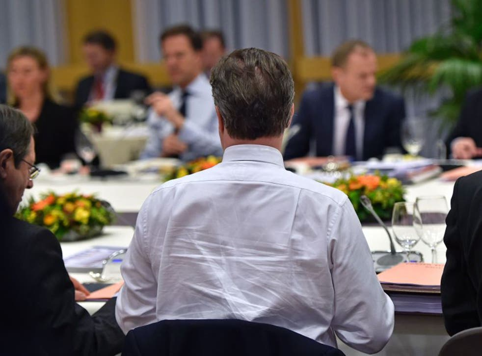 Powered by pizza and coffee, David Cameron's efforts in Brussels paid off