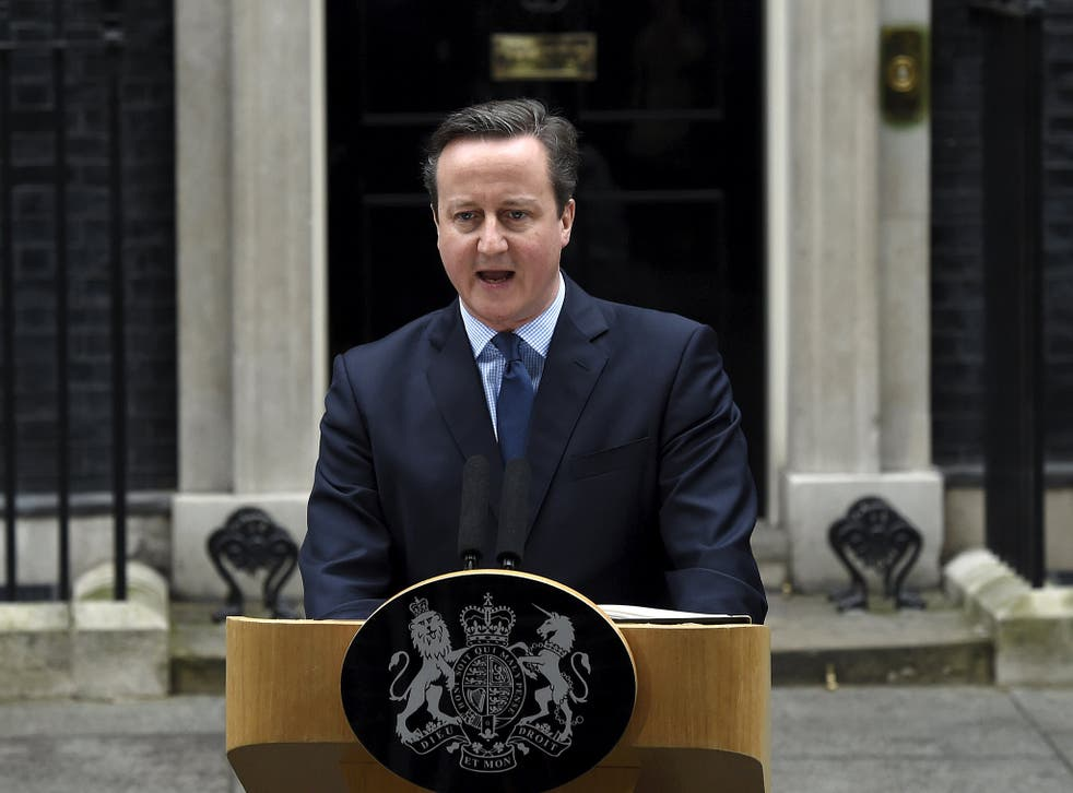 Downing Street needs to ensure a majority of his Parliamentary party backs the PM in the referendum