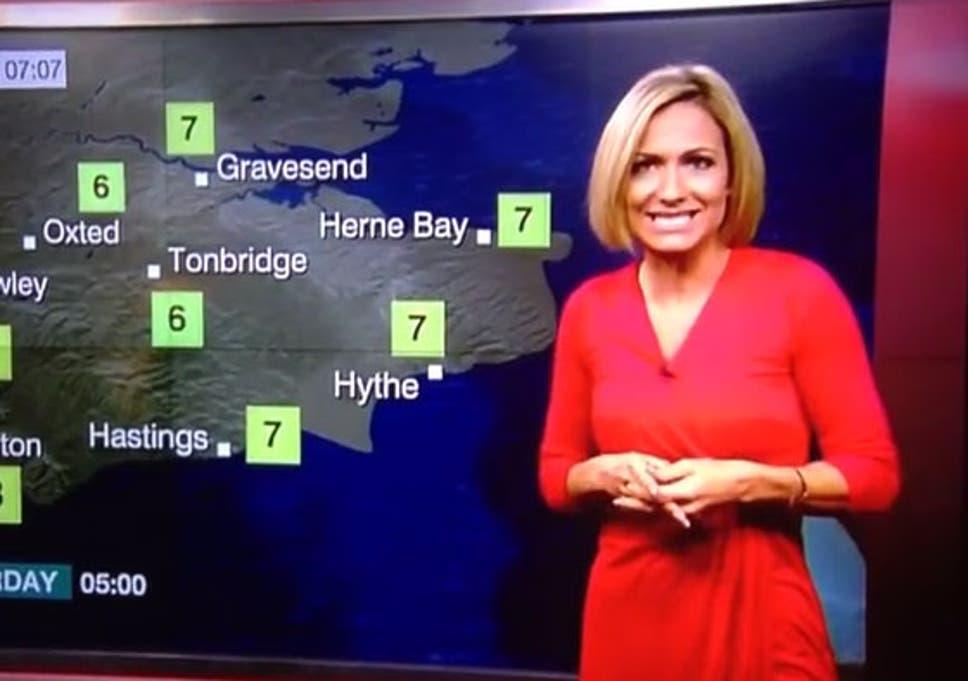 Bbc Weather Presenter Rachel Mackley Faints Live On Air During Forecast