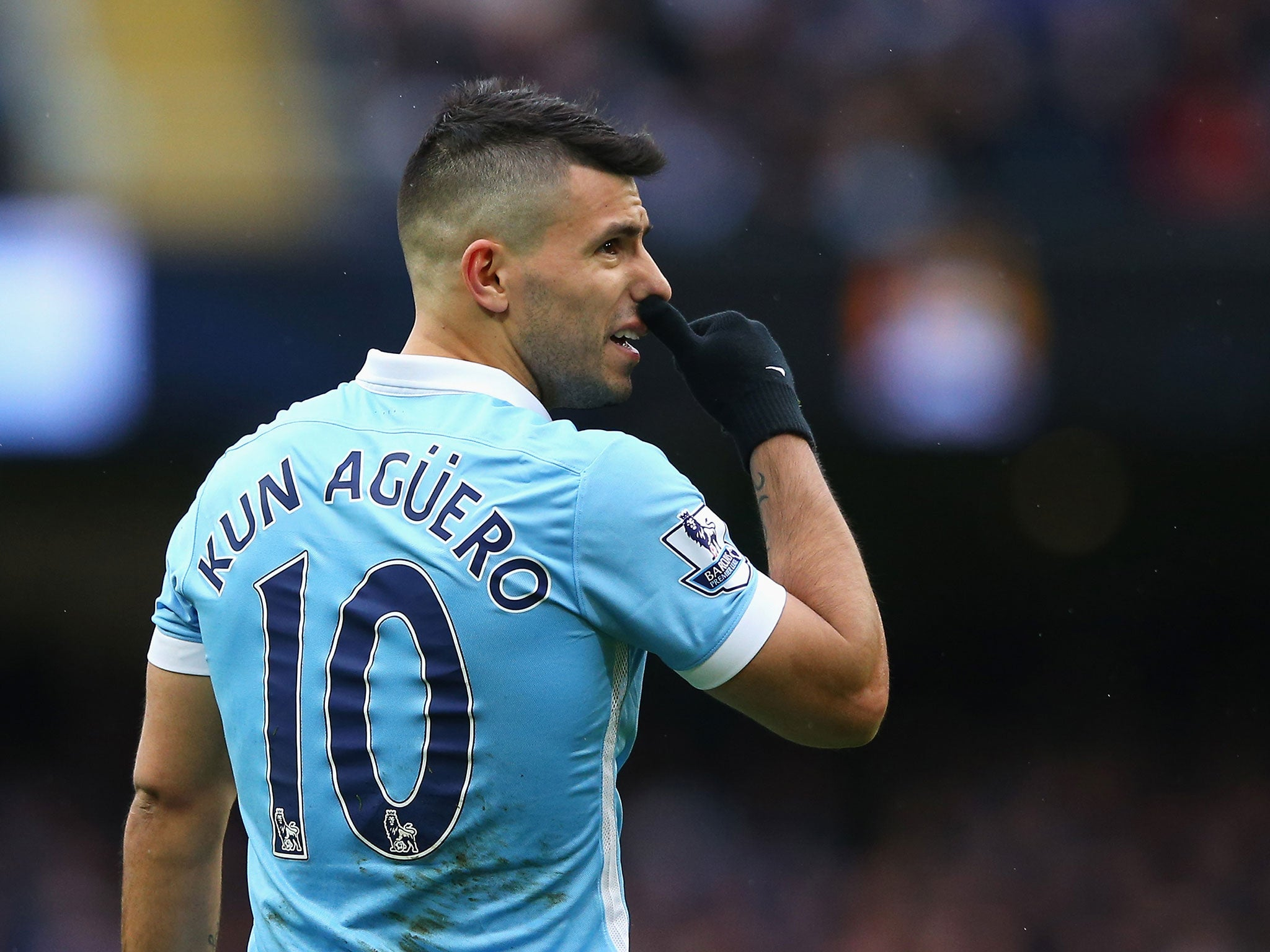 Sergio Aguero happy to stay at Manchester City for rest of career