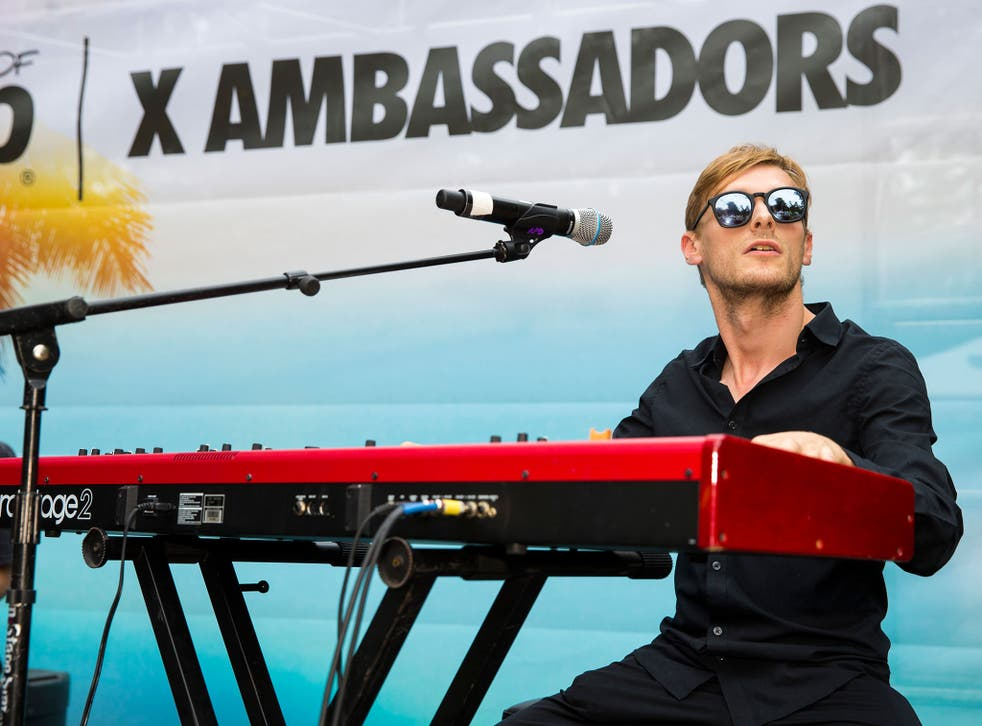 Casey Harris knew he couldn't be an airline pilot, so joined his brother's band, X Ambassadors