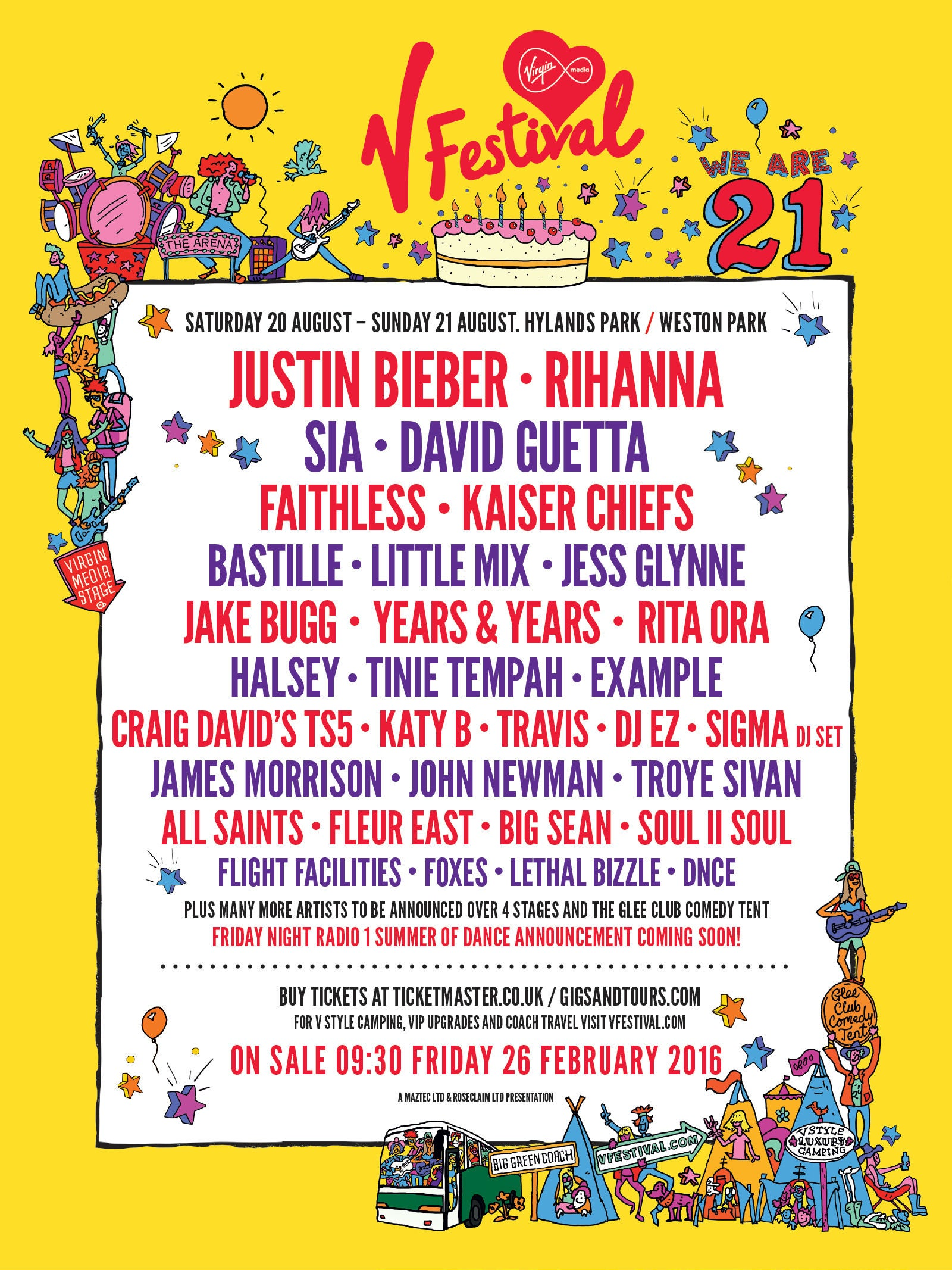 V Festival 2016 Tickets How To Get Chelmsford And Staffordshire