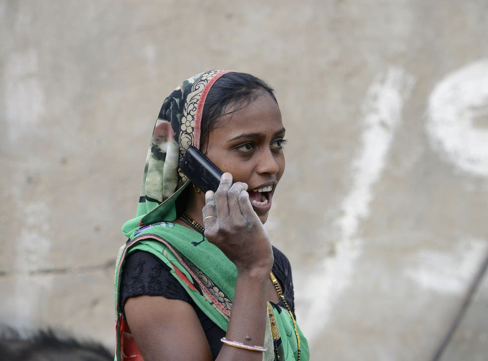 Women's rights are being increasingly restricted in India (file pic)
