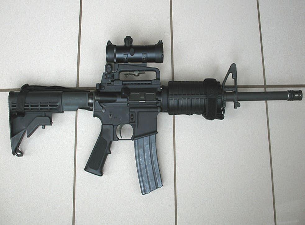 The lawsuit claims the AR-15 assault rifle has no legitimate civilian use