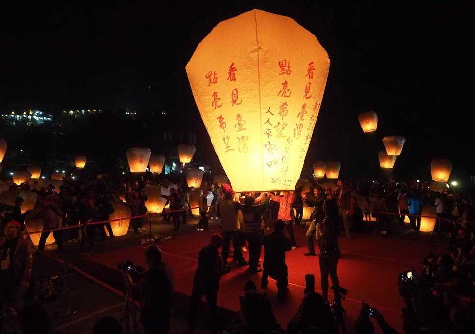 chinese sky lanterns are fire hazards and endanger wildlife expert