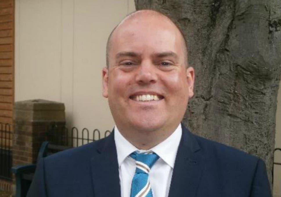 Andrew Moffat, assistant head teacher at Parkfield Community School in Birmingham.