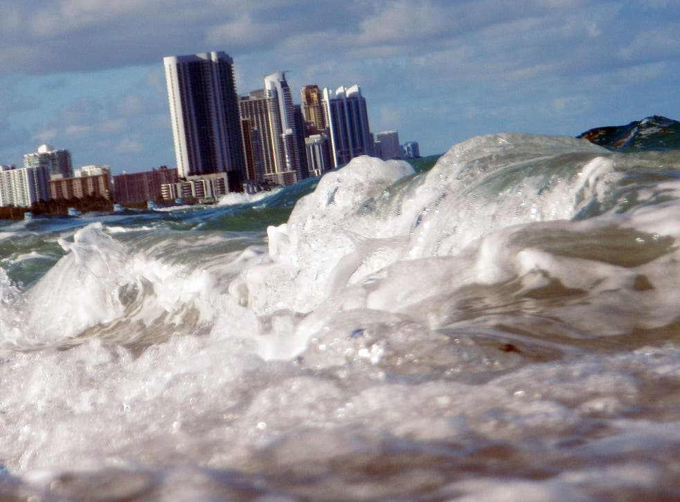 A nine-metre sea level rise would flood vast areas of coastline around the world