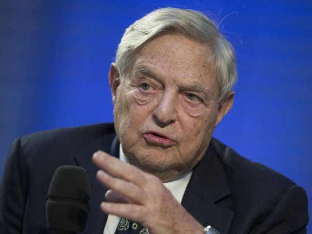 Investor and business magnate George Soros is among the group of philanthropists calling for higher duties