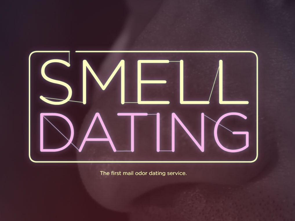 Smell Dating will match you with other single people based on their body odour   The Independent The Independent