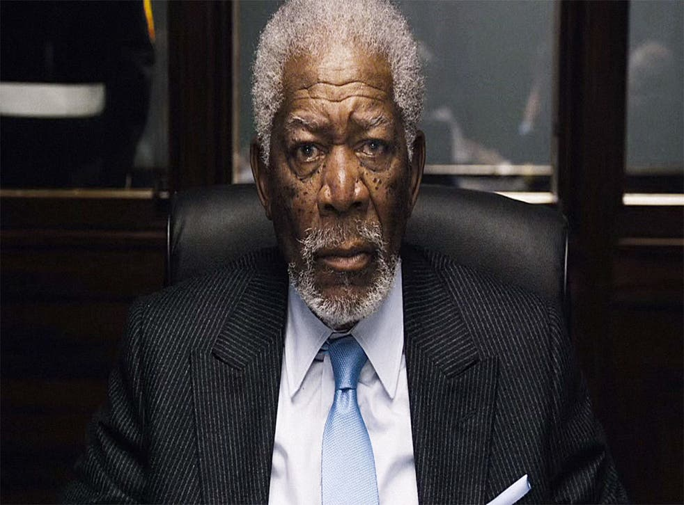 Morgan Freeman provided the narration