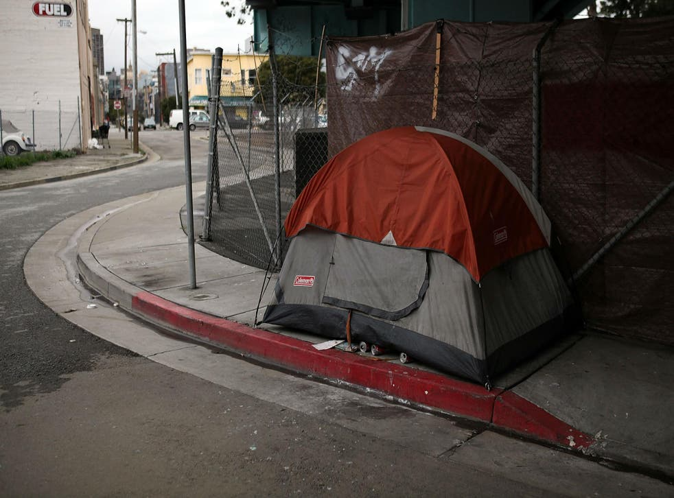 An appeal has raised over $16,000 to distribute tents while other citizens want to remove them