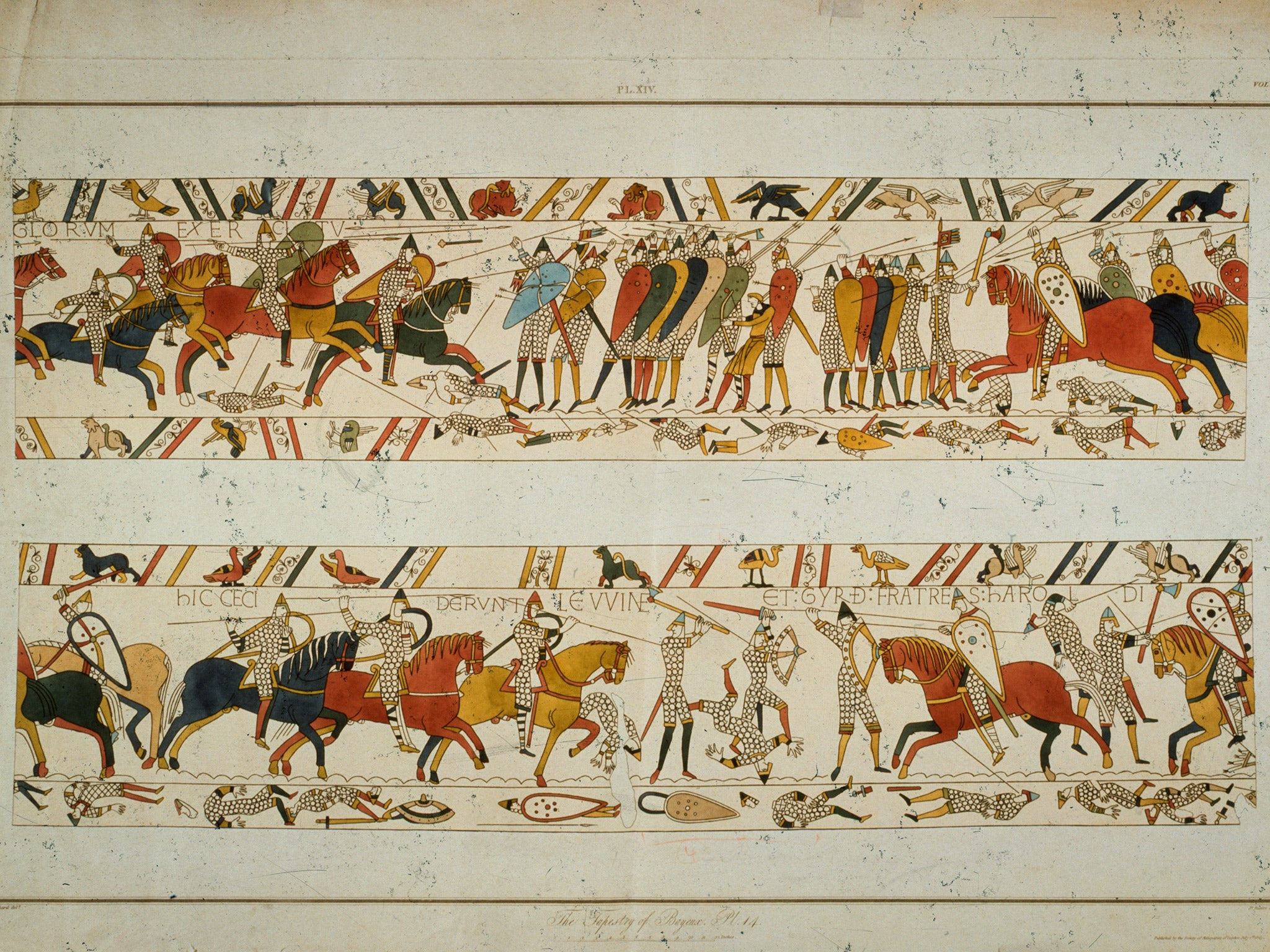 Lets show macron we mean business and lend france the crown lets show macron we mean business and lend france the crown jewels in return for the bayeux tapestry the independent fandeluxe Images
