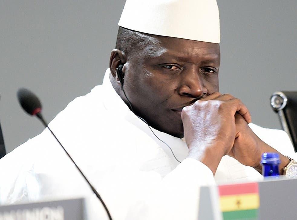 Yahya Jammeh's 22-year rule has been marked by repeated accusations of human rights abuses
