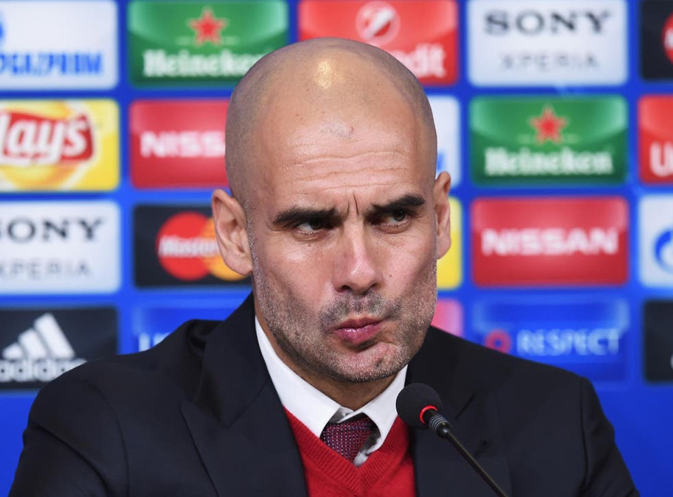 Bayern Munich manager Pep Guardiola will soon take over at Manchester City