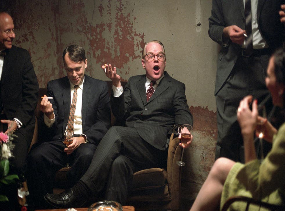 Philip Seymour Hoffman in his Oscar-winning Capote role