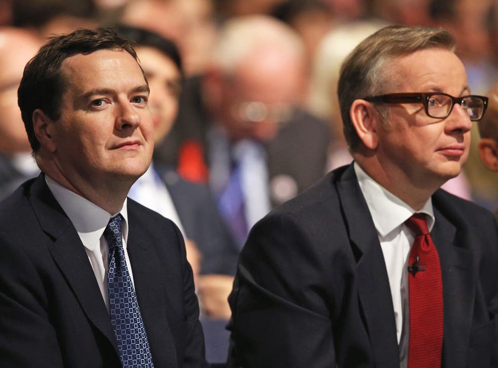 The Chancellor is keen to ensure that he retains Michael Gove's support for any future Tory leadership election