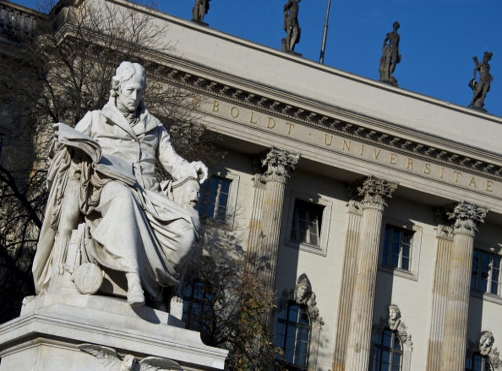 There are no fees for degrees at Humboldt University of Berlin in Germany