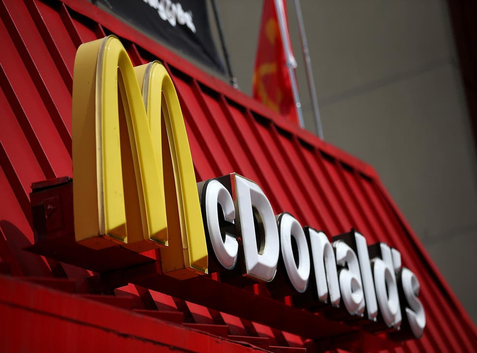 Staff from two McDonald's restaurants are staging a walkout