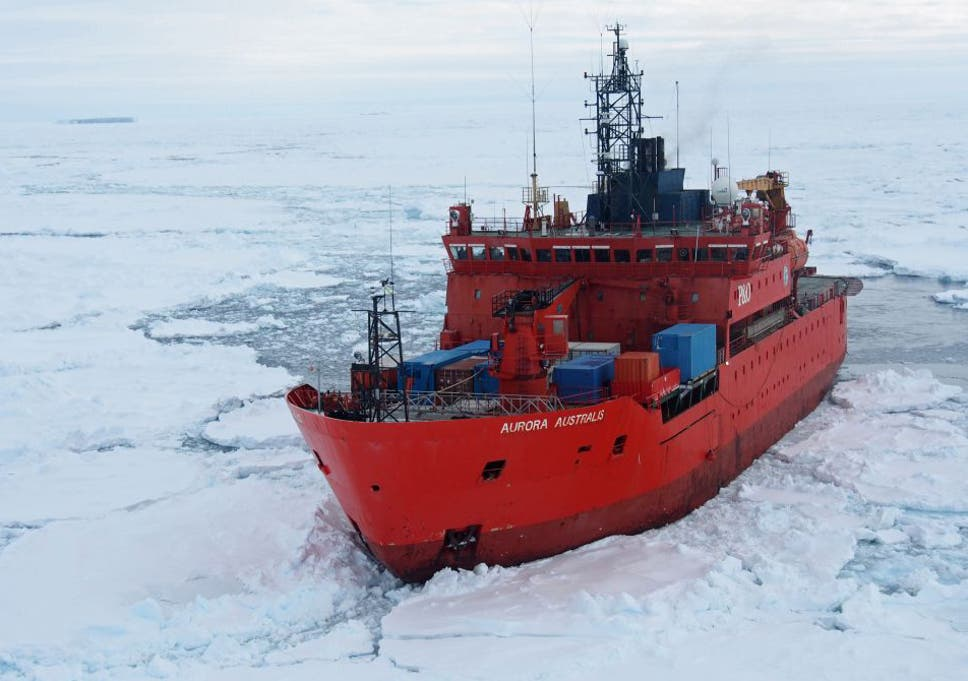 5ee1f51304 Australian icebreaker runs aground in Antarctica during blizzard ...