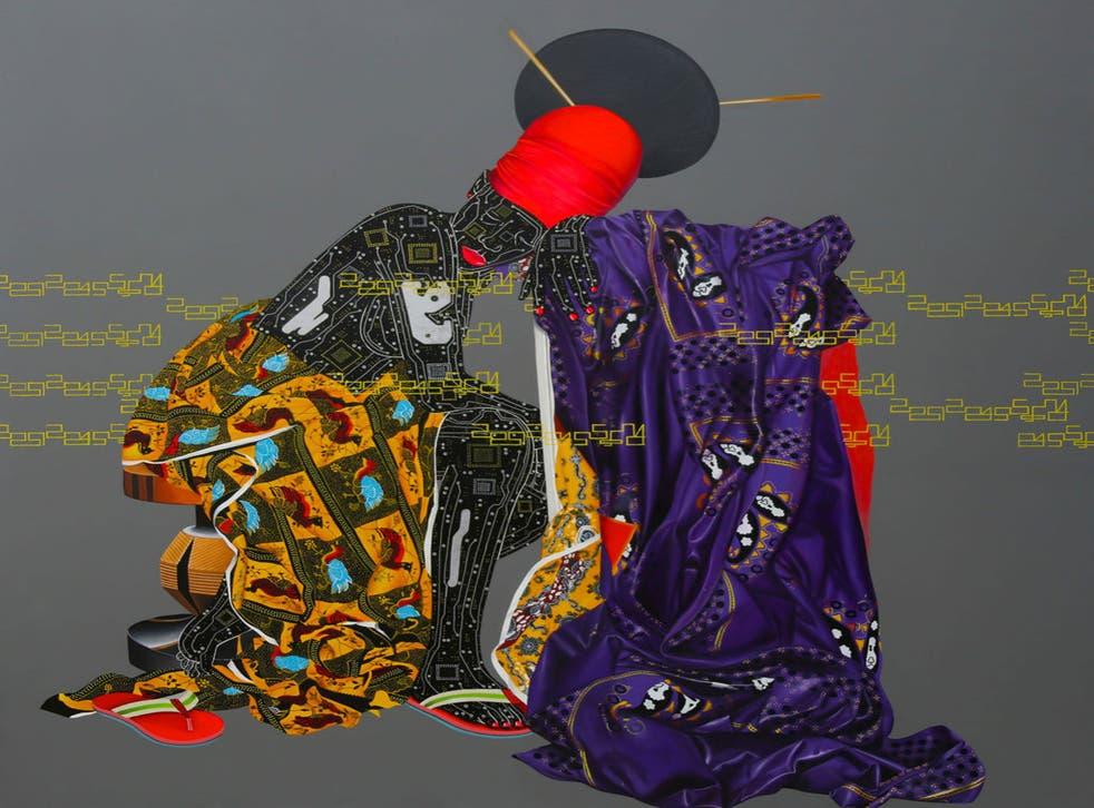 'Abandonnes' by Eddy Kamuanga