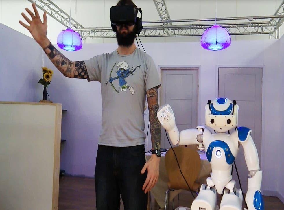 Nao, Dr Bremners' robot proxy