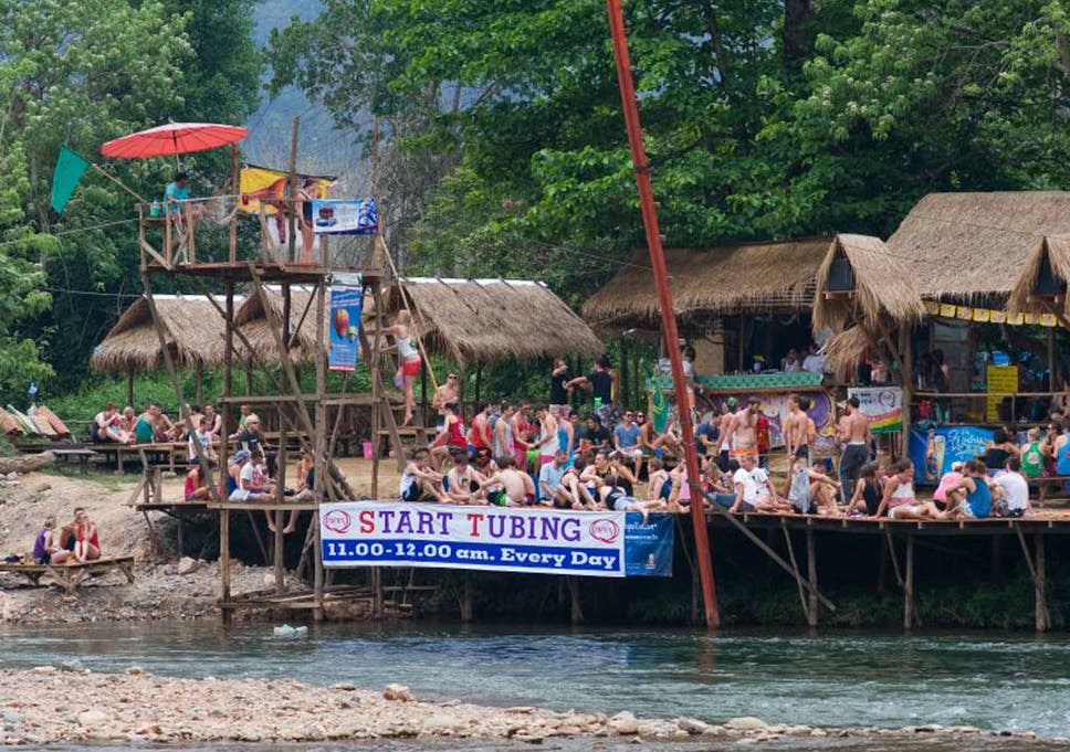 how vang vieng in laos has worked hard to improve its dangerous