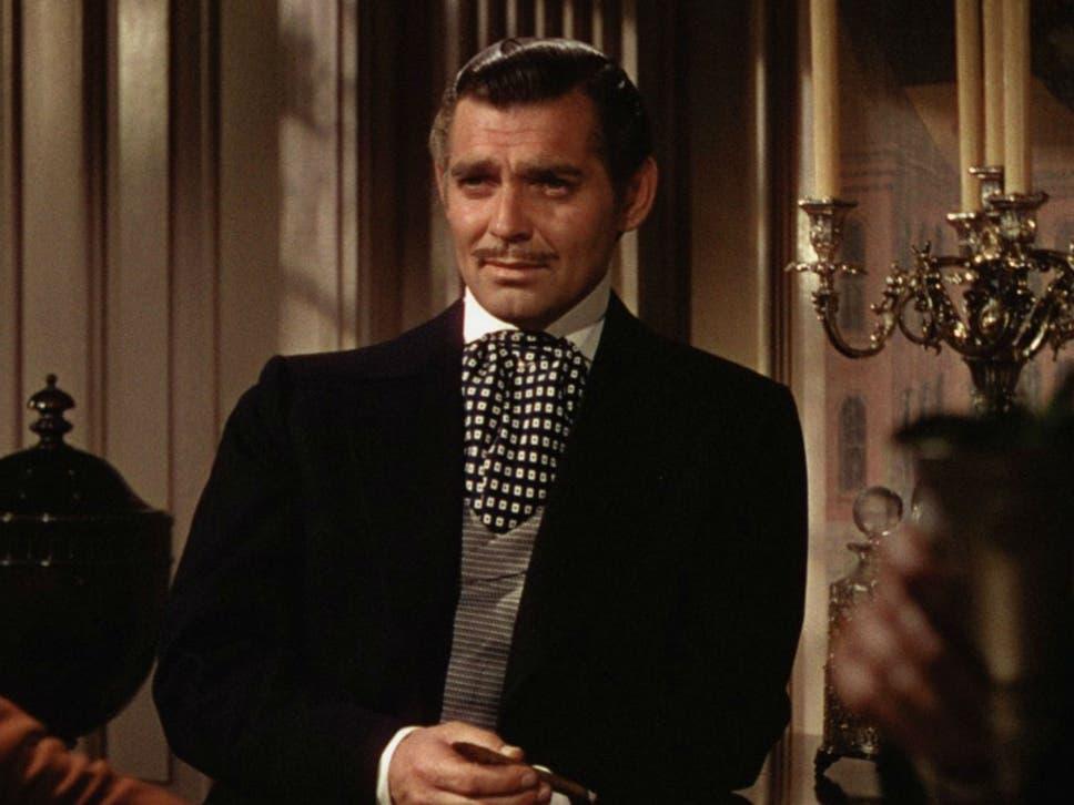 Clark Gable As Rhett Butler In The 1939 Film Adaptation Of Gone With Wind