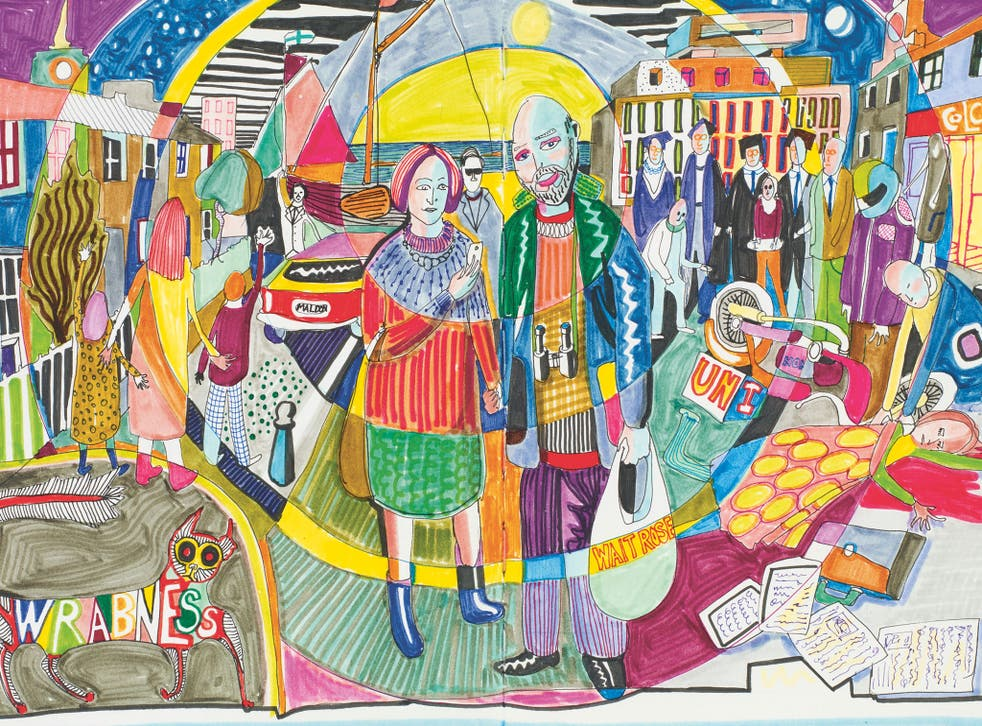 Perry's people: an illustration from Grayson Perry's Sketchbooks