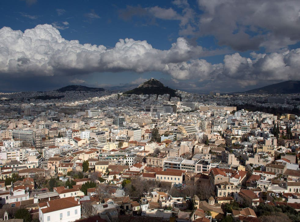 File image of Athens: Police said there was no evidence of a break in