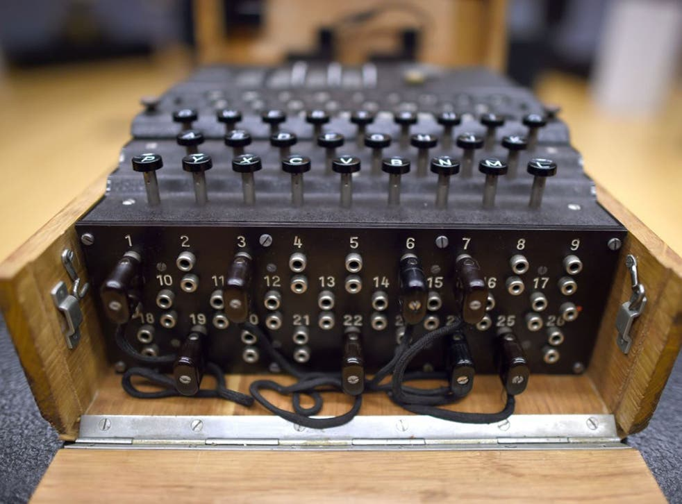 Code war: an Enigma machine featured in 'World War Two: a Timewatch Guide'