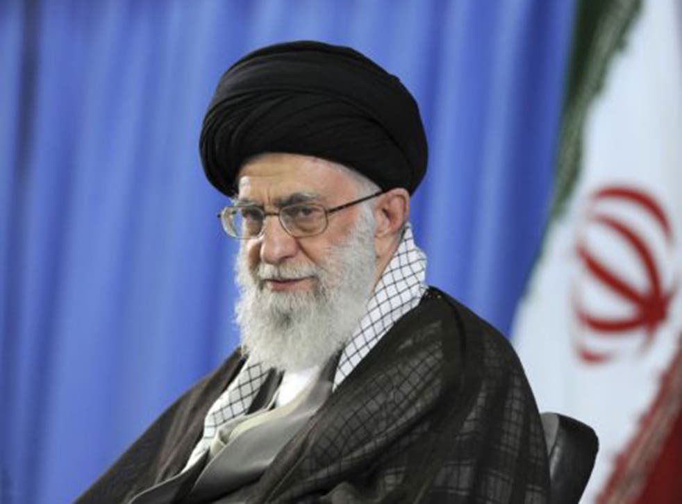 Ayatollah Khamenei said there should be no relations with the US or Israel