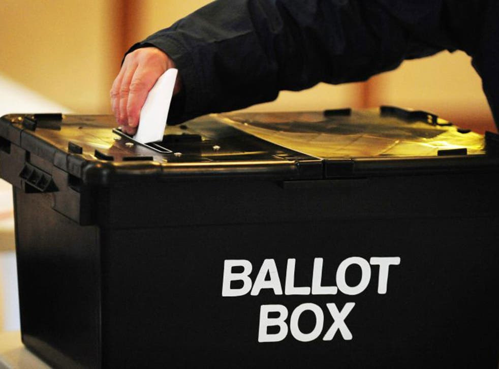 Elections take place across the UK today