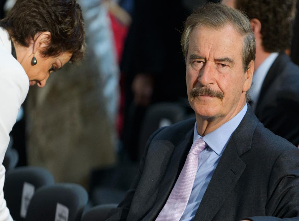 Vicente Fox was President of Mexico between 2000 and 2006