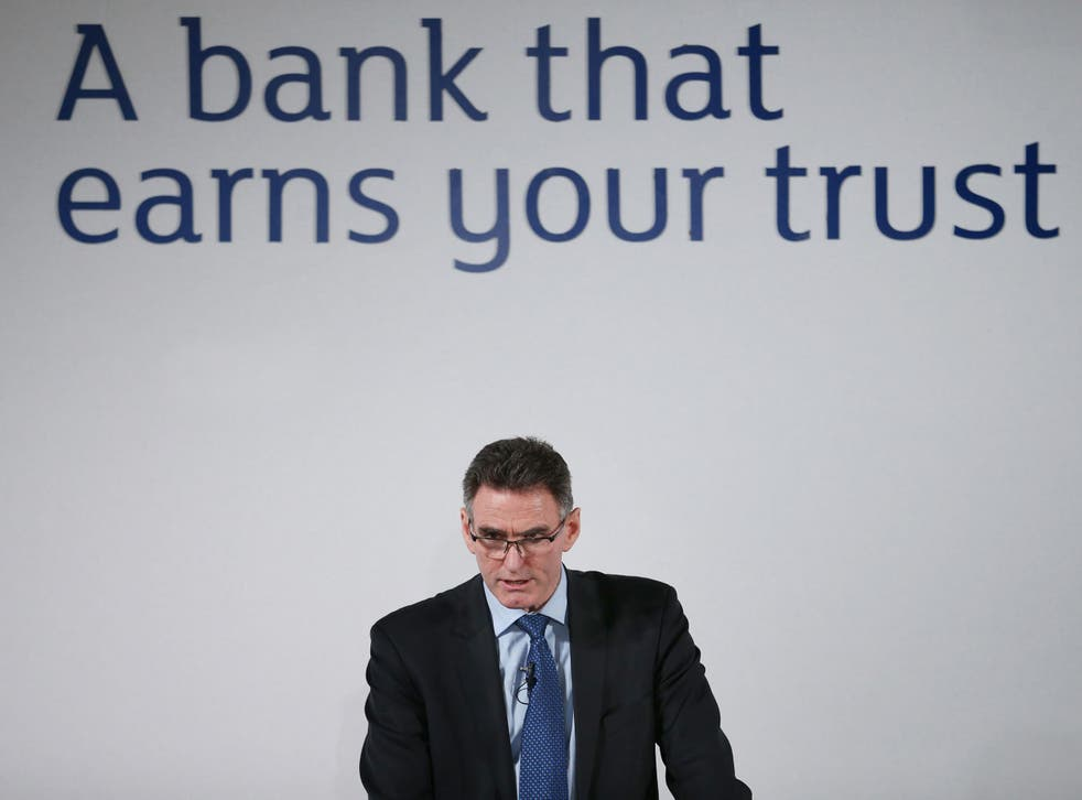 The bank's chief executive Ross McEwan says the money will go towards addressing 'legacy litigation issues'