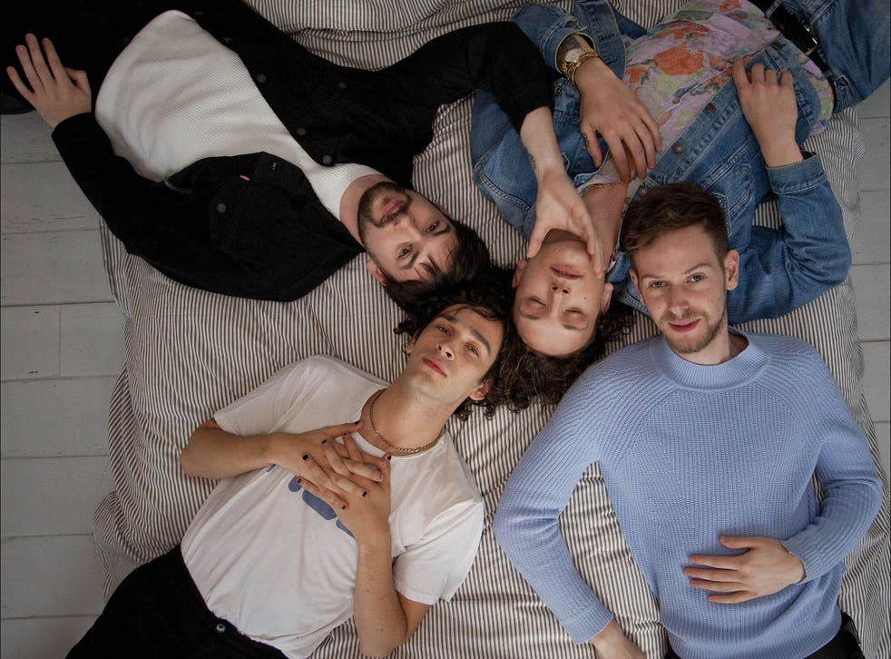 The 1975 are a British alternative rock band formed in Manchester
