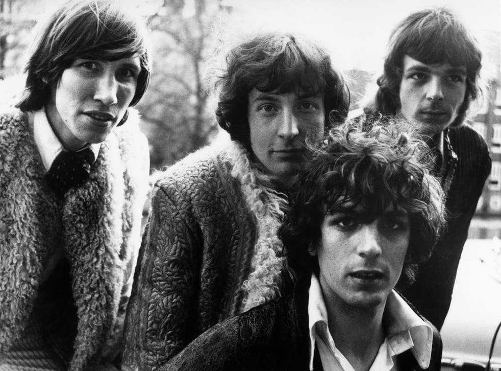 Pink Floyd's original members: From left to right, Roger Waters, Nick Mason, Syd Barrett and Rick Wright.
