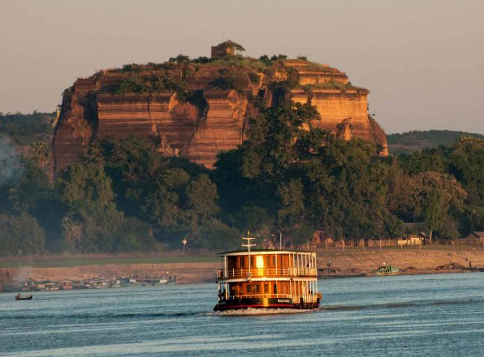 On the Pandaw cruise from Homalin to Monywa
