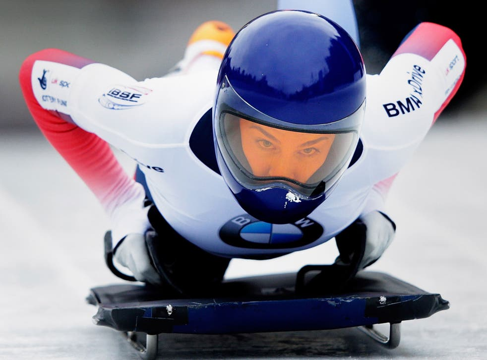 Laura Deas on Day 5 at IBSF World Championships in Innsbruck