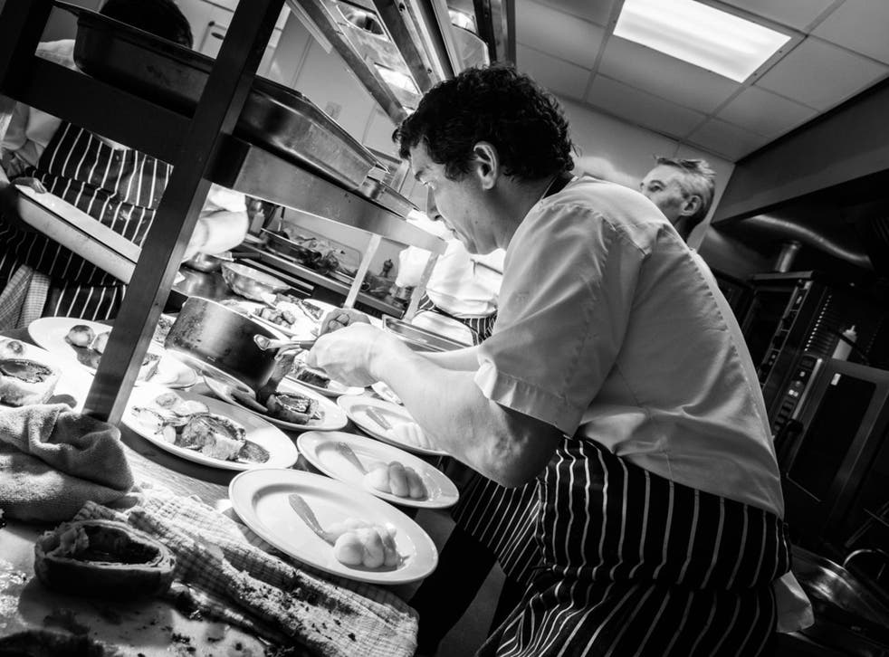Yeo Valley Canteen is one of five restaurants battling it out