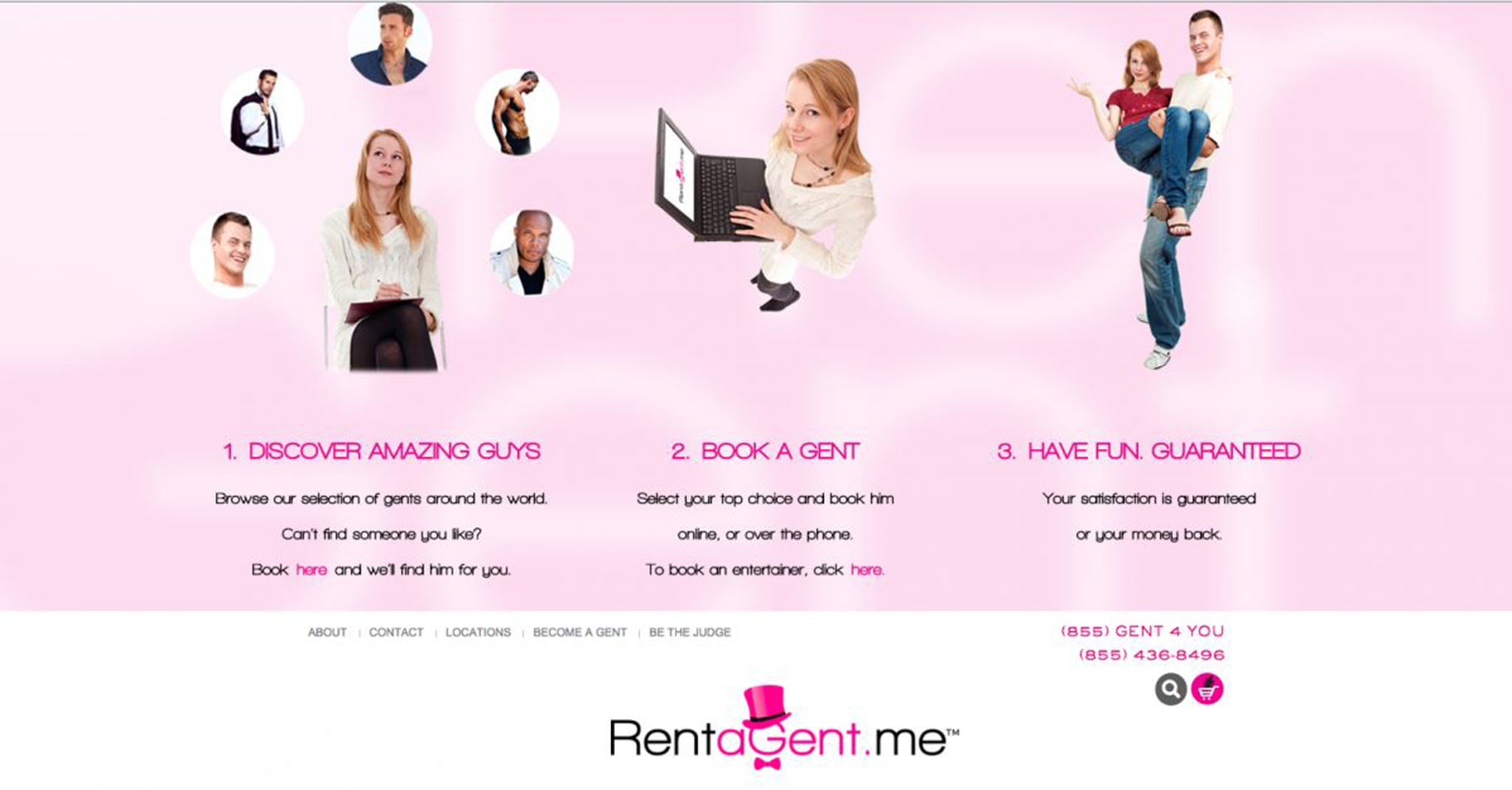 Rent A Gent is a startup that lets you rent a platonic male friend