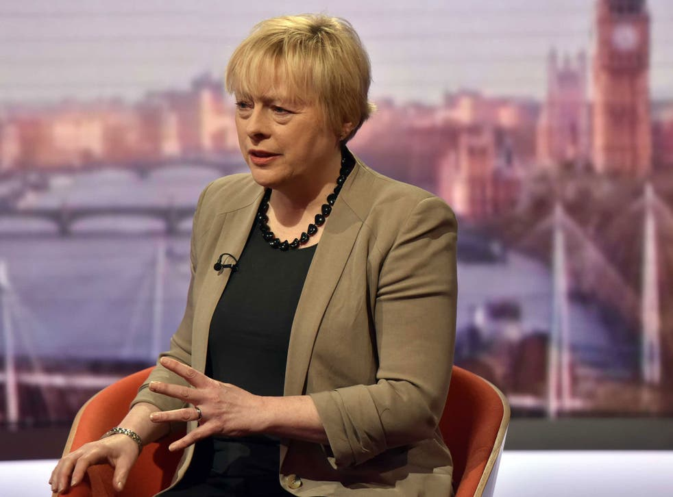 Angela Eagle says the Opposition is united by a desire to stay in the EU