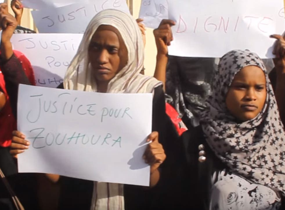 People in Chad have been protesting about the rape of Zouhoura Ibrahim