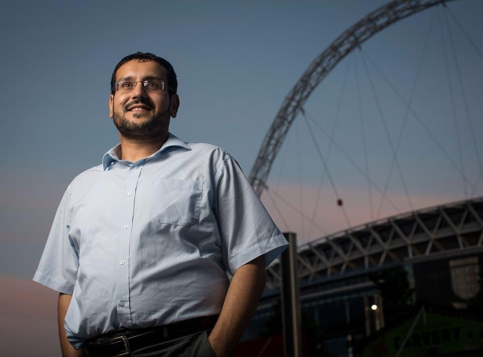 Mustafa Field, a community organiser, is helping to arrange the trip
