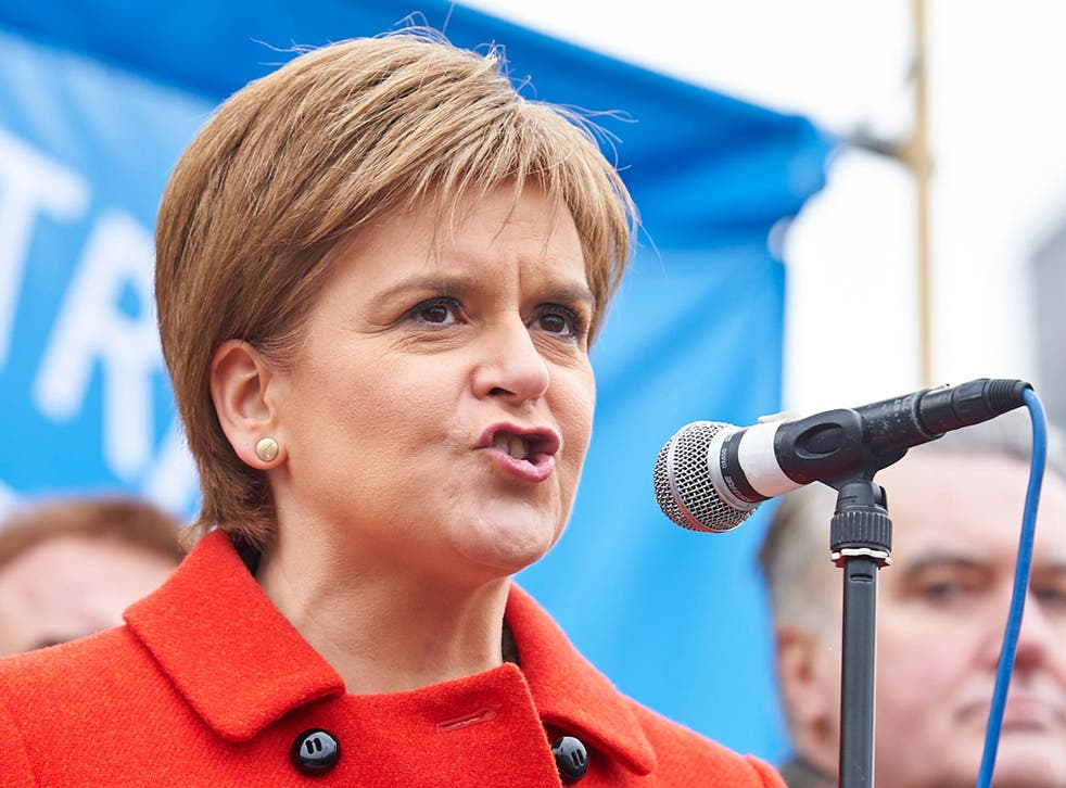 Scotland's First Minister, Nicola Sturgeon, says that leaving the European Union would make it harder for Britain to help the world's most vulnerable people