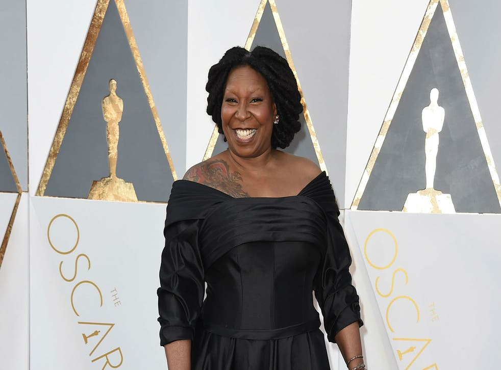 The beauty company mixed up Oprah and Whoopi Goldberg