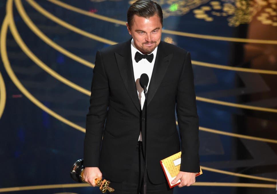 Oscars 2016: Leonardo DiCaprio finally wins his Oscar for Best Actor