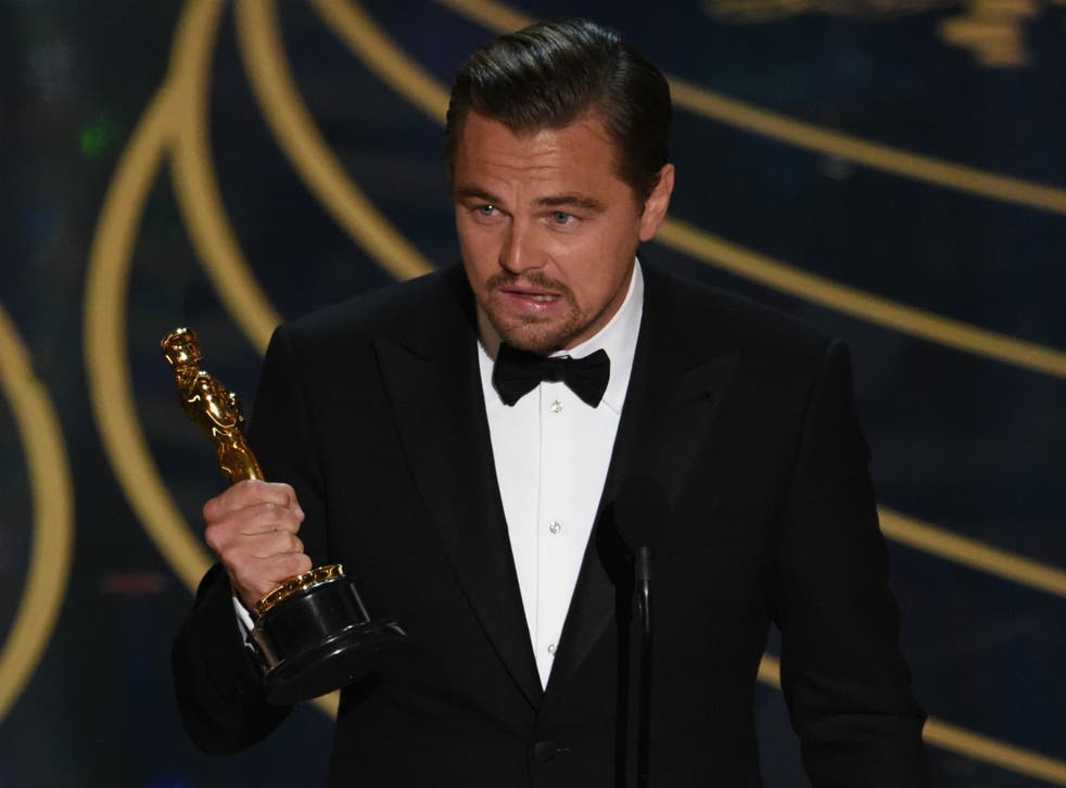 Leonardo DiCaprio encouraged the world to take notice of climate change in his Best Actor speech