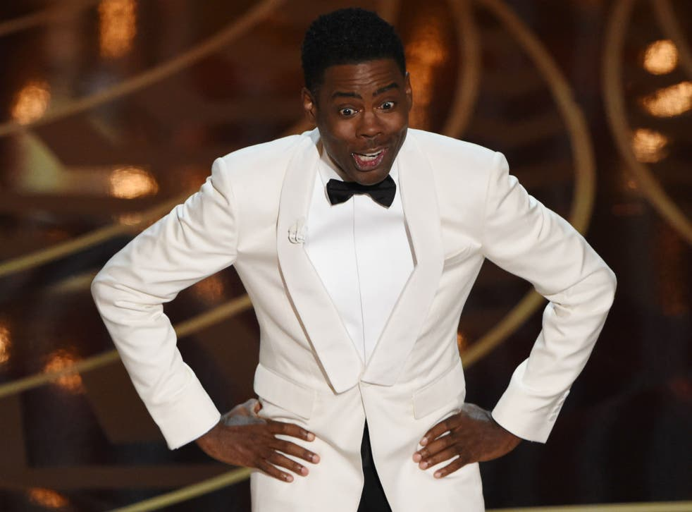 Chris Rock gave a no holds barred performance as Oscars host