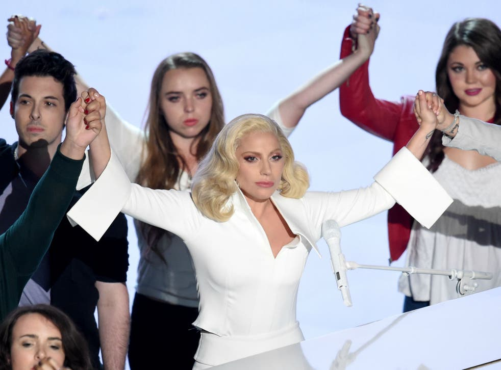 Lady Gaga's Oscars performance went down better than her David Bowie tribute at the Grammys