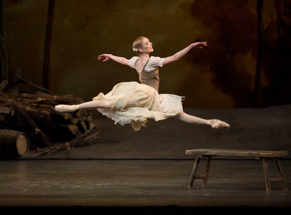 Sarah Lamb as Giselle at the Royal Opera House